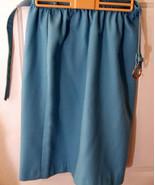 New Blue Skirt Cricket Lane Belted Nwt sz 12 pe... - $6.00