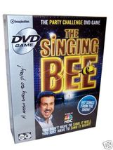 The Singing Bee DVD Game -------New - $24.99