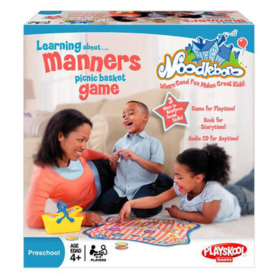 Playskool Noodleboro Learning About Manners Picnic Bask - $10.79