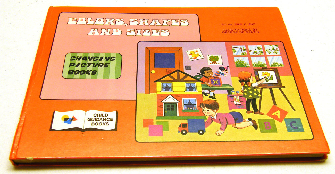 Color, Shapes & Sizes - Vintage - Changing Picture Book