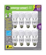 GE 8 Pack Energy Smart 60 CFL 13 Watt Bulbs  - $16.99