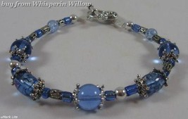 Crystal Blue Persuasion Matching Bracelet - $16.95