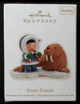 Hallmark 2011 Ornament FROSTY FRIENDS SERIES #32 New - $13.02