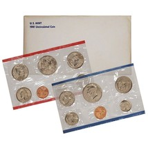 1981 P & D US Mint Set United States Original Government Packaging Box C... - £12.07 GBP