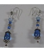 Crystal Blue Persuasion Matching Earrings - $12.95