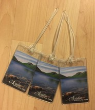 Acadia National Park Bagage Étiquettes - Barre Port Maine USA Cartes à J... - $19.66