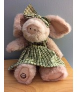 Boyds Bears Retired Longaberger Exclusive Pig Petunia Steadsbeary - $30.29