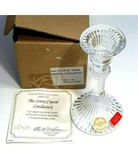1 Lenox Collection Crystal Candle Stick Holder  Austria  Style 781500 Si... - $8.99