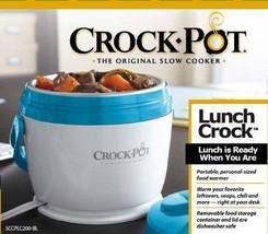 CrockPot SCCPLC200BL 20Ounce Lunch Crock Food Warmer Blue h770 l810 w800... - $598,23 MXN