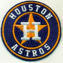HOUSTON ASTROS  iron on embroidered embroidery patch baseball  logo mlb - $10.95