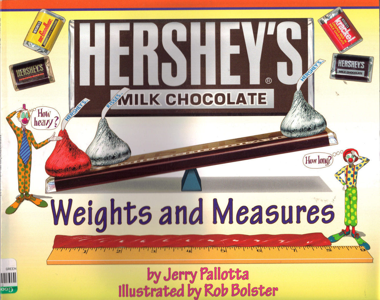 Hershey's Milk Chocolate Weights and Measures