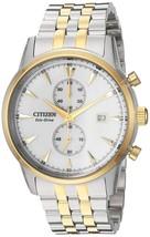 Citizen Men's Eco-Drive Two Tone Chronograph Watch CA7004-54A image 1