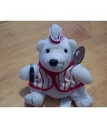 """1998 Coca-Cola 6"""" Bean Bag Plush Polar Bear in ... - $5.99"""