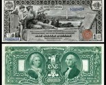 1896 EDUCATIONAL Series Reproduction of 3 famous notes/ $1, $2  ,$5 Bills - €16,80 EUR
