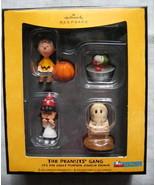 2008 Hallmark The Peanuts Gang Halloween Ornaments Set of 4 NIB - $44.00