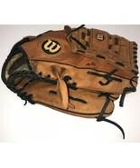 "WILSON Elite 13"" A2477 Leather Softball Glove RHT HEAVY WEAR Look! - $9.49"
