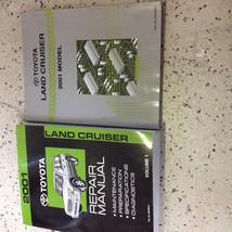 2001 Toyota LAND CRUISER Service Shop Repair Manual Volume 1 & Wiring Diagram  - $59.35