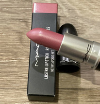 New Authentic MAC LUSTURE Lipstick SYRUP # 524 FULL SIZE IN BOX - $17.90