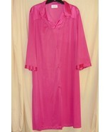 Vanity Fair Hot Pink Lingerie Robe L - $24.88