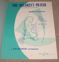 The Children's Prayer Sheet Music - Humperdinck - 1966    - $8.95