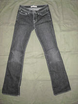 J Brand 118 BootCut Womens Jeans Size 26 Black image 9