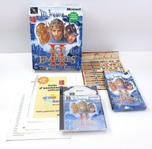 Microsoft Age Of Empires Ii 2 Box (Pc, 2002) *Version Francais* - $23.43