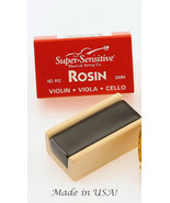 Super Sensitive Dark Rosin/Violin/Fiddle/Cello/Viola/New - $5.75