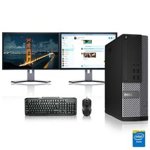 Dell Computer 3.0 G Hz Pc 8GB Ram 2 Tb Hdd Windows 10 - $368.16