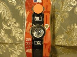 New York Yankees Rookie Series black watch adjustable strap water resistant, MLB - $16.10