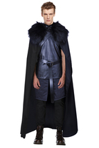 Game of Thrones Jon Snow Knights Watch Cosplay Costume - $99.99+