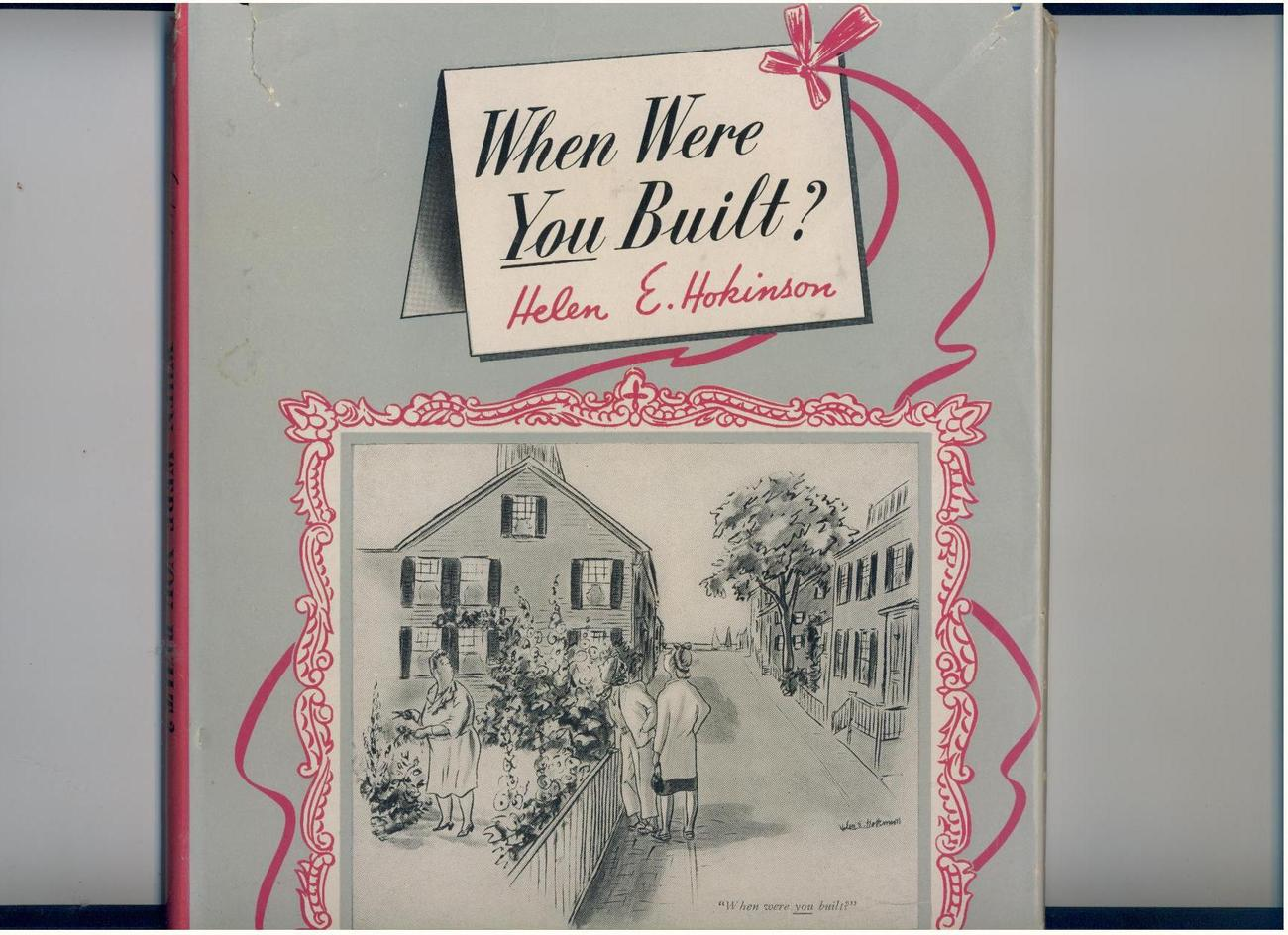 Primary image for Helen Hokinson--WHEN WERE YOU BUILT?--1948 1st--cartoon book