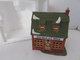 DEPT 56 59269 WHITE HORSE BAKERY BUILDING  NO CORD/NO SLEEVE  D9 - $27.39