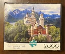 Buffalo Neuschwanstein Castle Bavaria 2000 Piece Jigsaw Puzzle Complete - $16.98