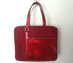 Estee Lauder Burgundy Red Travel Cosmetic Case ... - $14.99