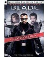 BLADE TRINITY DVD 2005 NEW SEALED 2 DISC UNRATED SNIPES - $7.19