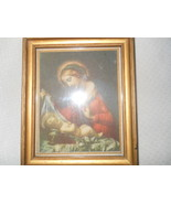 Vintage Sifrits Company Jesus Holy Picture Paper Back Before 1950 Virgin Mary Sm - $97.99
