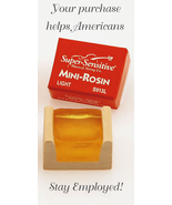 Super Sensitive Mini Rosin/Light/Fiddle/Violin/Viola/New - $3.98