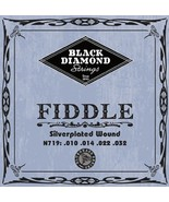 Black Diamond Fiddle String Set/Violin/Fiddle/4/4 Size/New - $5.60