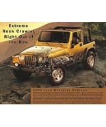 2003 Jeep WRANGLER RUBICON sales brochure sheet 03 4WD - $8.00