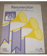 Resurrection Sheet Music - Gaither - 1981 - $7.99