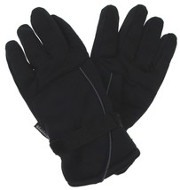 Black Structure Gloves 3M Thinsulate Winter Sport Mens One Size NEW - $12.29