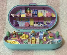 Bluebird Vintage Polly Pocket 1992 Babysitting Stamper Playset *Complete* - $159.99
