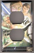 Outlet Light Switchplate Cover of Star Wars Clone Wars - $6.75