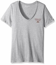 Champion NCAA Minnesota Golden Gophers Women's University V-Neck Shirt  Large - $9.89