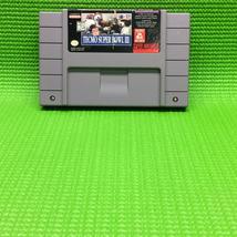 Tecmo Super Bowl III: Final Edition - Nintendo SNES Super   Cartridge Only - $21.00