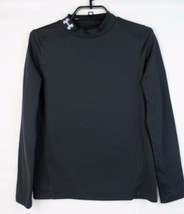 Under Armour fitted cold gear men's shirt long sleeve black size YLG/JG/G - $17.89