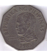 Authentic Old Philippine Two Peso Coin - $44,43 MXN
