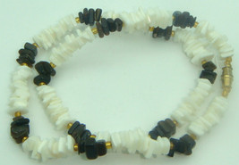Vtg 1980's Puka Necklace Shell Chip Bead Surfer... - $9.95
