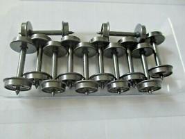 "Intermountain #40051-50  Metal Wheels 36"" Code 110 50 Axles Per Pack HO Scale image 1"