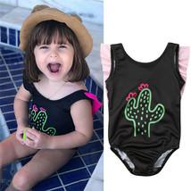 Fashion Toddler Kid Baby Girl Swimwear Summer Cactus Printed Swimming Bo... - $9.34+